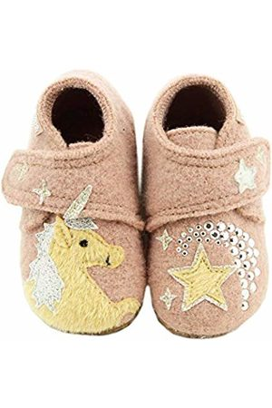 Living Kitzbühel Baby Girls' Babyklettschuh Einhorn Aurora Shoes