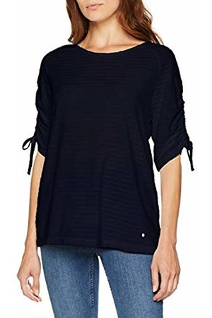 GINA LAURA Women's Shirt Relaxed, Tunnel Am Ärmel T-Shirt