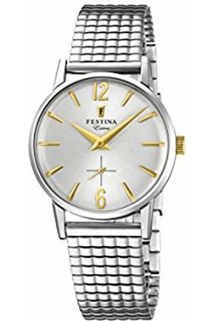 Festina Womens Analogue Classic Quartz Watch with Stainless Steel Strap F20256/2