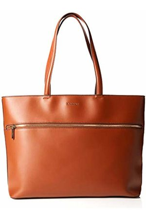 Fiorelli Women's City Canvas and Beach Tote Bag (Tan with Zip)