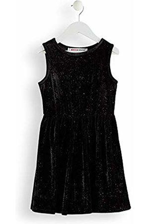RED WAGON Girl's Velvet Glitter Dress