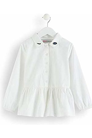 RED WAGON Girl's Embroidered Eyes Tunic Blouse