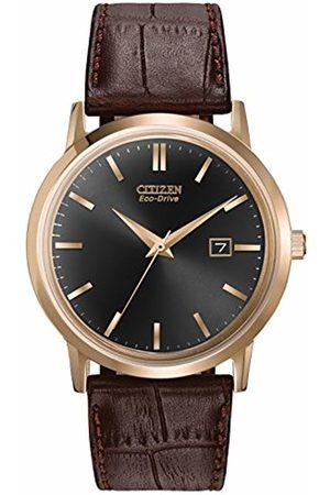 Citizen Men's BM7193-07E Eco-Drive Rose Gold Tone Date Watch