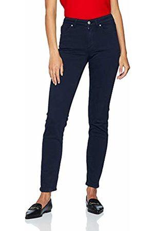 GANT Women's Slim Twill Jeans, (Marine)