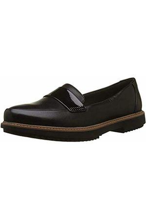 d693f967c2e Black Matte Flat Shoes for Women