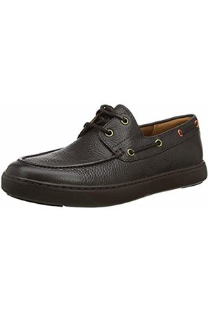 FitFlop Men's Lawrence Boat Shoes Loafers, (Chocolate 030)