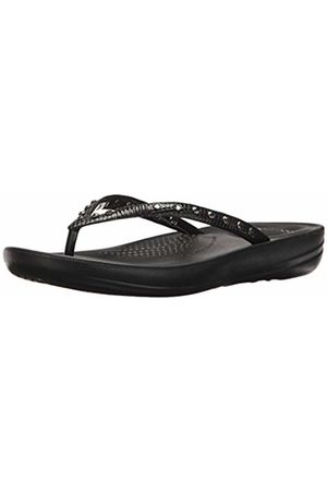 FitFlop Women's IQUSHION Ergonomic FLIP-Flops ( 001)