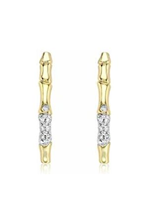 Carissima Gold Women Diamond Stud Earrings 1.58.200Y