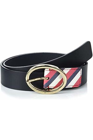 Tommy Hilfiger Women's Oval Buckle 3.5 Belt