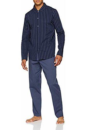 Seidensticker Men's Chambray Lang Pyjama Sets