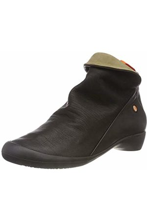 softinos Women's Farah Smooth Combi Ankle Boots ( /Smoke 552)