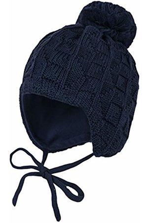 maximo Boy's Mütze, Pompon, Bindeband, einfarbig Hat