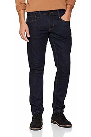Mustang Men's Oregon Tapered Fit Jeans, (Super Dark)