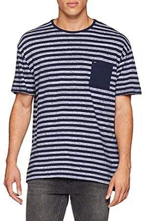 Tommy Hilfiger Men's TJM Heather Stripe Tee T-Shirt