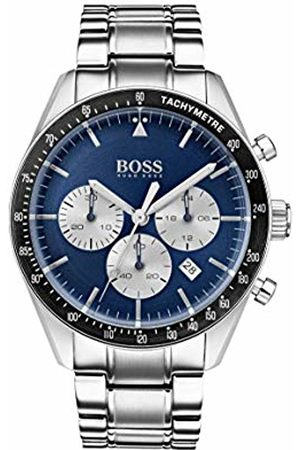 HUGO BOSS Watch Mens Chronograph Quartz Watch with Stainless Steel Strap 1513630