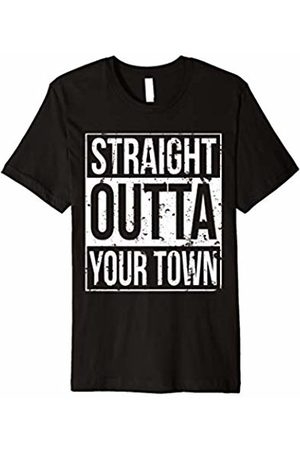 Funny Straight Outta Shirt Store Funny Straight Outta Your Town T Shirt Vintage Style