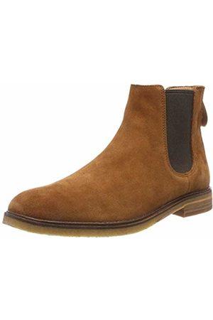 Clarks Men's Clarkdale Gobi Chelsea Boots, (Dark Tan Suede-)
