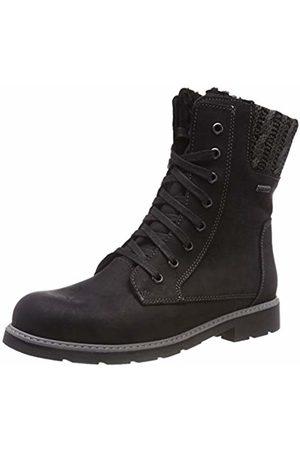 Däumling Girls' Baja Ankle Boots (Denver Schwarz 80)