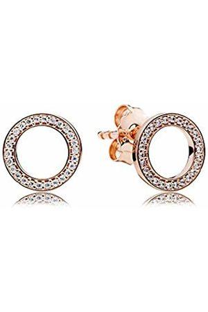 PANDORA Women Silver Stud Earrings - 280585CZ