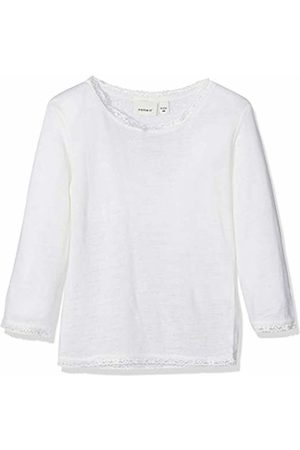 2e1f2df84 Name it Baby Girls  Nmfwang Wool Needle Ls Top Noos Long Sleeve (Snow Detail
