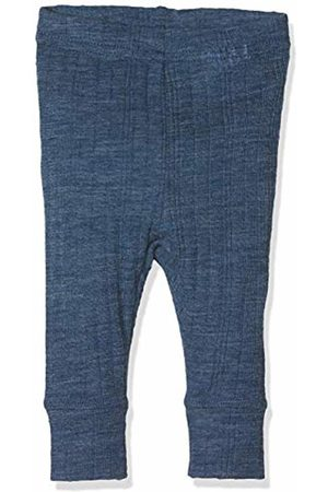 Name it Baby Boys' Nbmwang Wool Needle Longjohn Noos Leggings Ensign
