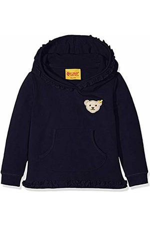Steiff Baby Girls' Sweathirt 1/1 Arm Sweatshirt (Marine|
