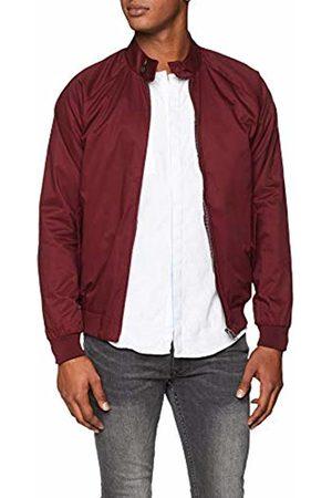 Ben Sherman Men's Core Harrrington Jacket, (Port)