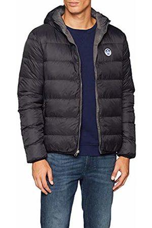 North Sails Men's Reversible Hooded Jacket ( 0999) (Manufacturer Size: Large)