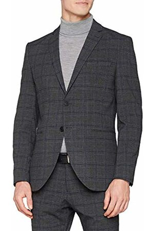 Selected Homme Men's Slhslim-cellogan Check BLZ B Noos Blazer, (Medium Melange)