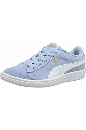 Puma Girls Vikky AC PS Low-Top Sneakers, Cerulean -Metallic