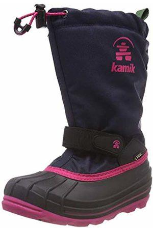 Kamik Girls' Waterbug8g Snow Boots, (Navy Marine/Rose Nro)
