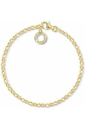 Thomas Sabo Women Silver Charm Bracelet - X0243-413-39-L18