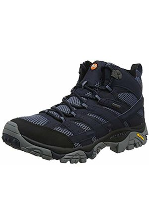 Merrell Men's Moab 2 Mid GTX High Rise Hiking Boots, Navy