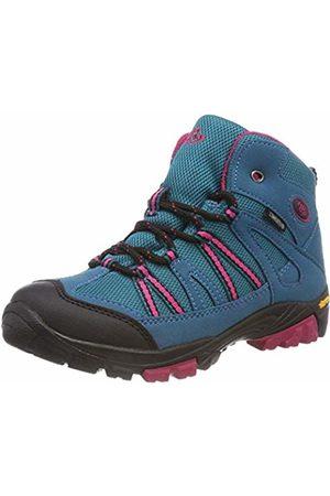 Bruetting Girls' Ohio High Rise Hiking Shoes, Turquoise Tuerkis/