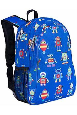 Wildkin Children's Backpack with Side Pocket - Robots Backpack, 41 cm