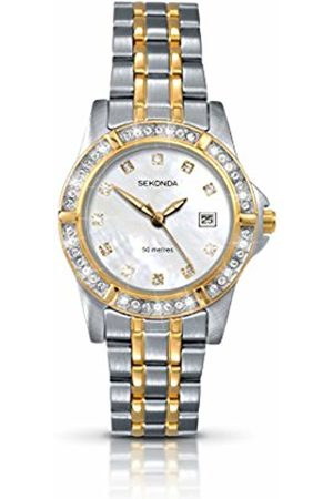 Sekonda Ladies Twilight Pearl 4174 Stone Set Dress Watch with Mother of Pearl Dial