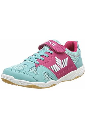 LICO Girls' Sport Vs Multisport Indoor Shoes, Tuerkis/ /Weiss