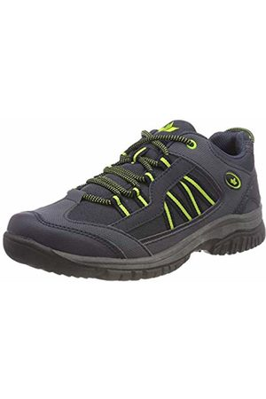 Lico Unisex Adults' River Low Rise Hiking Shoes, Marine/Lemon