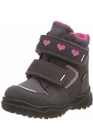 Superfit Girls' HUSKY1 Snow Boots, (Grau/rosa 20)