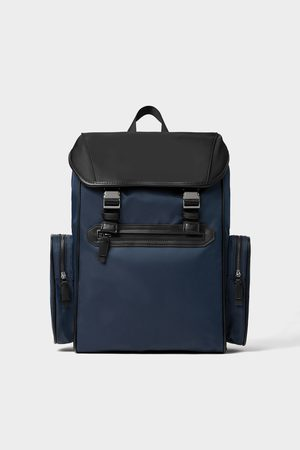 Zara COLOUR CONTRAST BACKPACK