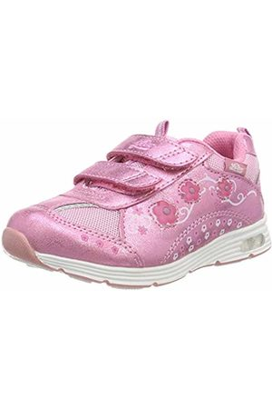 LICO Girls' Floret V Blinky Low-Top Sneakers, Rosa
