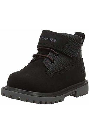 Skechers Boys' MECCA-BOLDERS Classic Boots ( Blk)