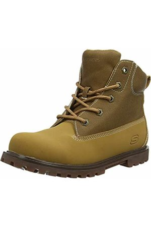Skechers Boys' MECCA-Outer Venture Classic Boots, Tan