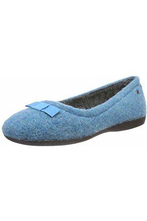 Romika Women's Lucille 01 Low-Top Slippers, (Aqua 590)