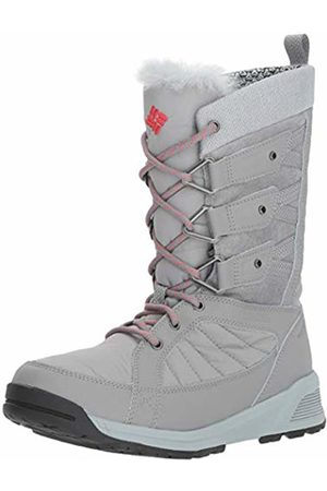 Columbia Women's Hiking Boots Waterproof, MEADOWS OMNI-HEAT 3D, (Monument, Sunset )