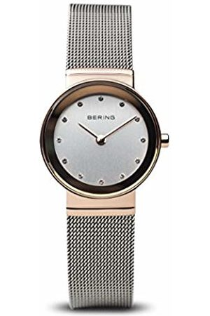 Bering Time 10126-066 Women's Quartz Analogue Watch- Stainless Steel Strap