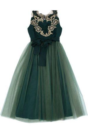 RHEA COSTA Women Party Dresses - Tulle & Crepe De Chine Party Dress