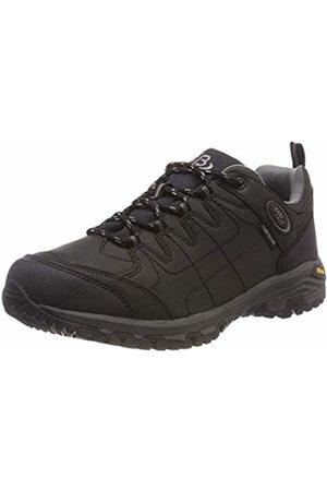 Bruetting Unisex Adults' Blackburn Low Rise Hiking Shoes, Schwarz/Grau