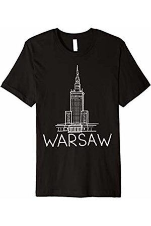 DDD City Men T-shirts - Warsaw city T-shirt Tee Shirt Tshirt