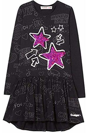 Desigual Girl's Vest_Star Dress, (Negro 2000)